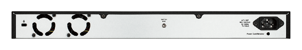 D-Link DGS-1100-26MP   24 Ports 10/100/1000Mbps PoE+ Smart Gigabit Switch with 2 combo 1000Base-T/ SFP ports, 370W PoE power budget