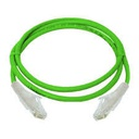 [NCB-C6UGRNR1-3] D-Link Cat6 UTP 24 AWG PVC Round Patch Cord - 3m - Green Colour