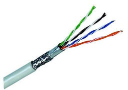 [NCB-C6SFGRR-305] D-Link Cat6 SFTP 23 AWG PVC Solid Cable - 305m/Roll- Grey Colour