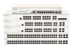 [DBS-2000-28P] D-Link DBS-2000-28P 24-Ports 10/100/1000Mbps PoE + 4-Ports Combo GE/SFP Cloud Networking Switch
