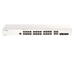 [DBS-2000-28] D-Link DBS-2000-28 24-Ports 10/100/1000Mbps + 4-Ports Combo GE/SFP Cloud Networking Switch