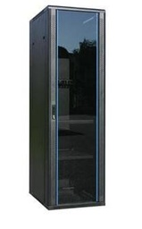 [AS6632] Redstar 32U 600x600mm Glass Door Cabinet